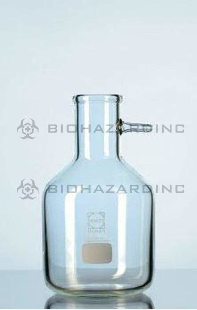 Schott Duran Filtering Flask Bottle Schott Duran Filtering flask Bottle shape w/gh conn. 5000ml