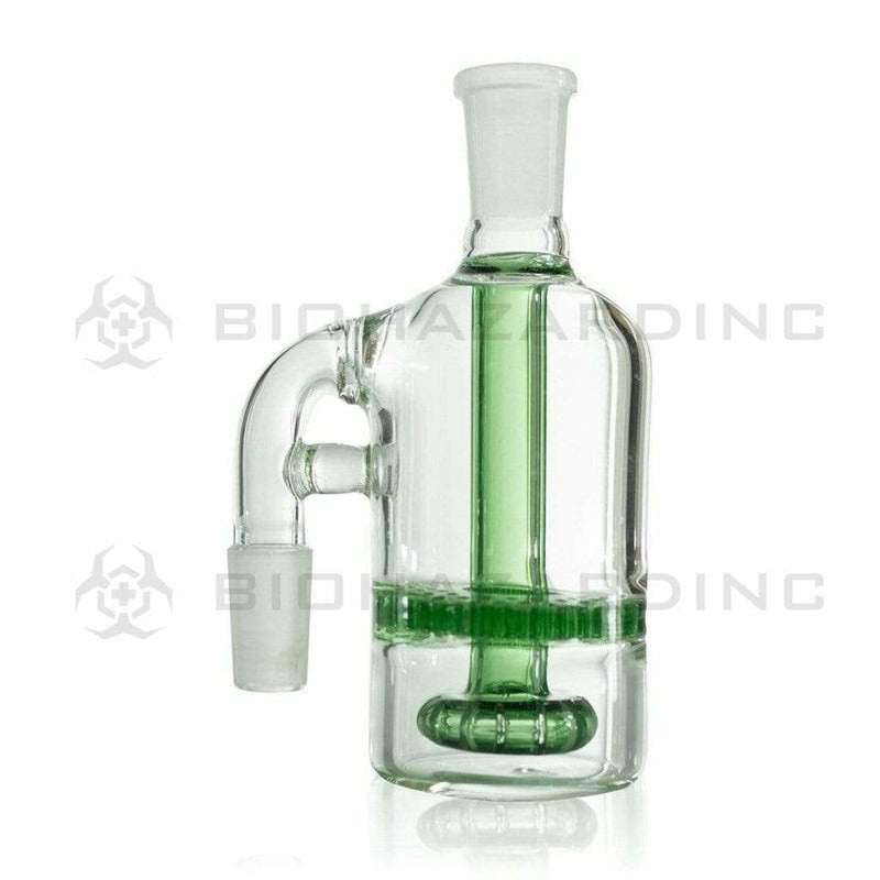 Biohazard Inc Ash Catcher Showerhead/Honeycomb Ash Catcher - Green 14mm/14mm