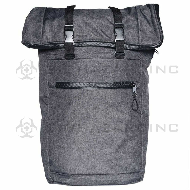 "BrightBay Smell Proof Carbon Bag Smell Proof Carbon Backpack ""The Mule"" - Dark Charcoal"