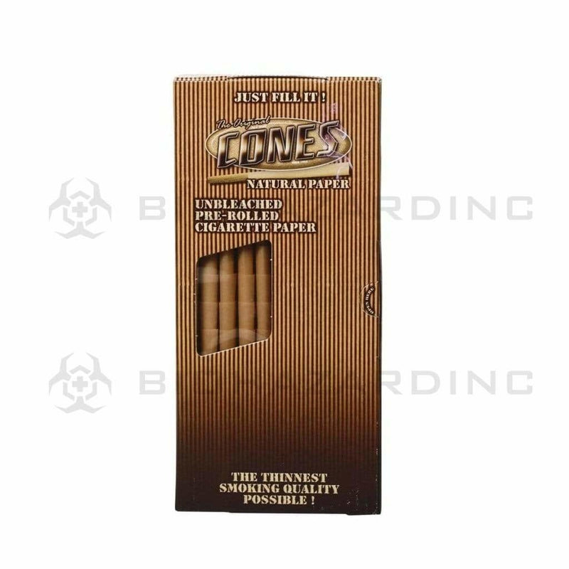 The Original Pre-Rolled Cones The Original Natural 109mm x 26mm King Deluxe Cones - 800 Count