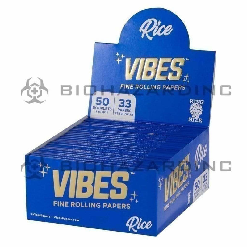 Vibes Rolling Papers VIBES Rice Papers King Size - 50 Count