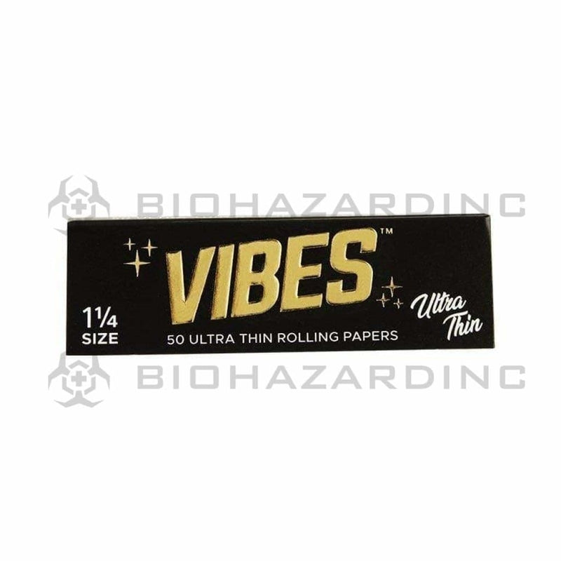 Vibes Rolling Papers VIBES Ultra Thin Papers 11/4 - 50 Count