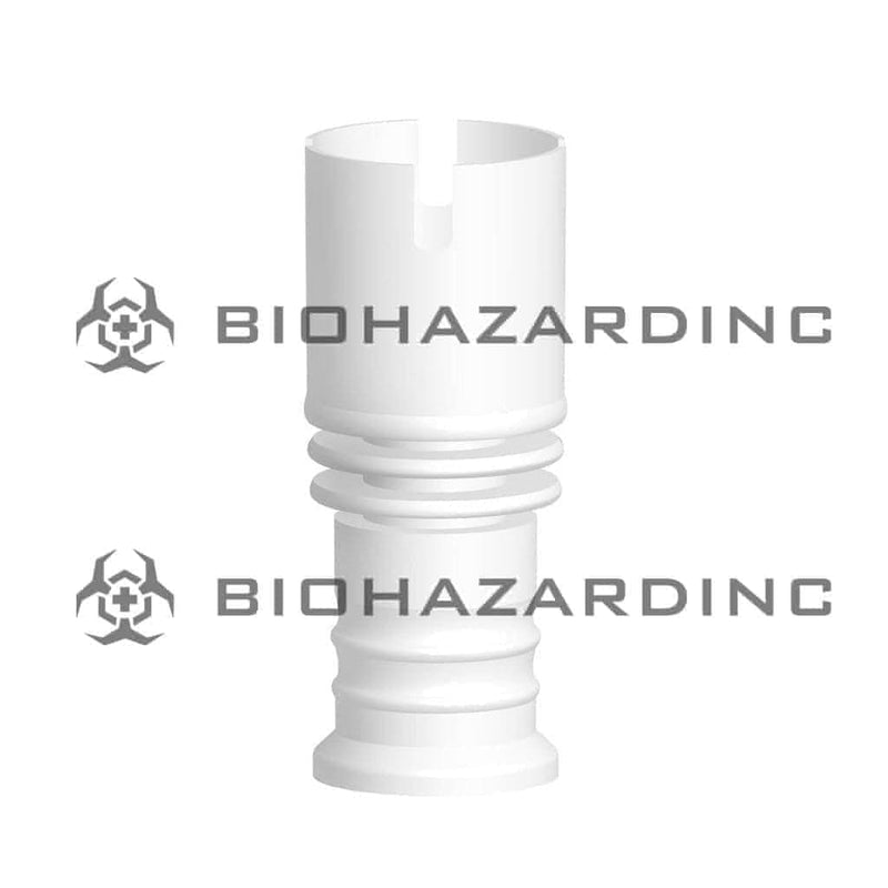 Biohazard Inc Ceramic Domeless Nail Wide Ceramic Domeless Rook Top Nail - 19mm or 14mm Female