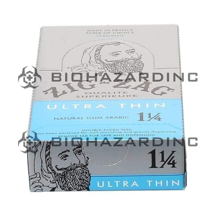 Zig-Zag Rolling Papers - Ultra Thin | 1¼ - 24 Count