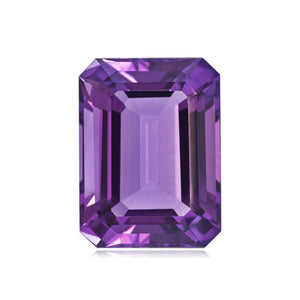 0.83-1.00 Cts of AA 7x5 mm Emerald Amethyst ( 1 pc ) Loose Gemstone(215801)