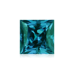 Lab Created Russian Alexandrite Square-Step Cut