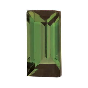 Natural Baguette Loose Green Tourmaline