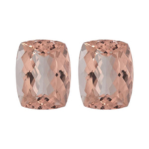 Natural Morganite Elongated Cushion Cut