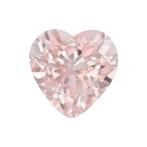 Natural Morganite Heart Cut