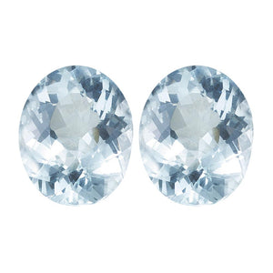 Natural Aquamarine Oval Cut