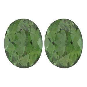 Natural Oval Loose Green Tourmaline