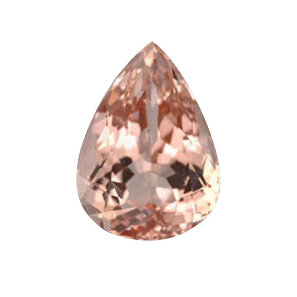 Natural Morganite Pear Cut