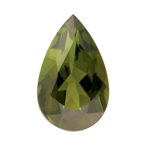 Natural Pear Loose Green Tourmaline