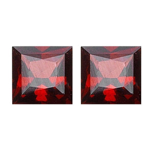 Mozambique Garnet Princess Cut