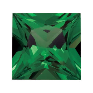 Tsavorite Garnet Princess Cut
