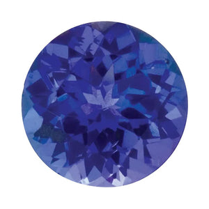 Natural Tanzanite Round Cut