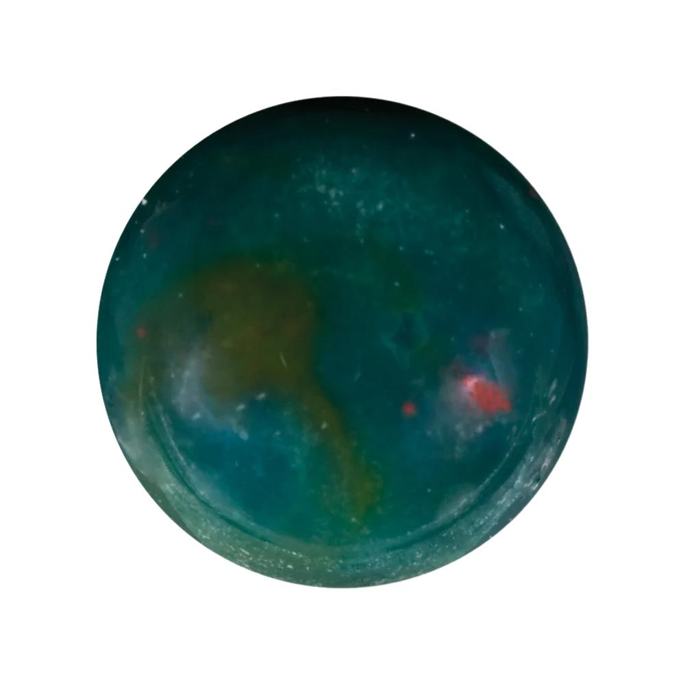Natural Loose Round Cabochon Bloodstone