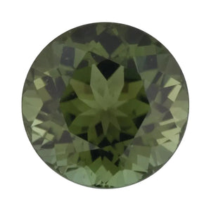 Natural Round Loose Green Tourmaline