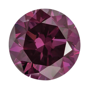 Treated Round SI Quality Loose Purple Diamond