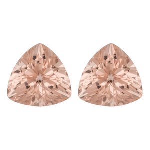 Natural Morganite Trillion Cut