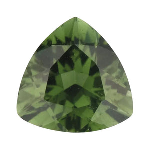 Natural Trillion Loose Green Tourmaline
