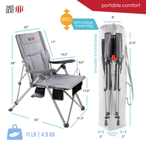 The Hot Seat, Heated Portable Chair