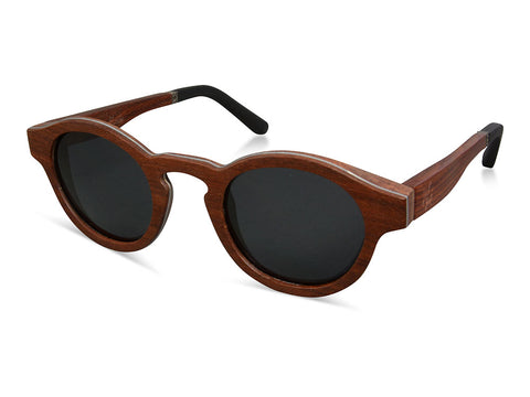 Prado, handmade wooden sunglasses from Wooden Made