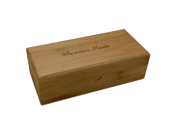 Houten protection box Houten Zonnebrillen Wooden Made