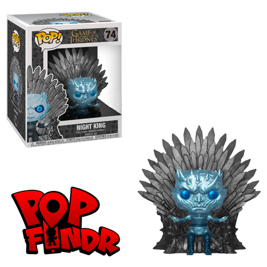 Metallic Night King on Throne #74 [TV] PREORDER