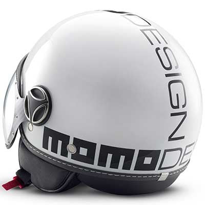 MOMO Fighter Classic White Glossy