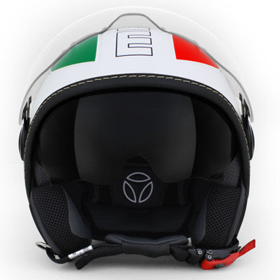 MOMO Avio Pro Italia White Red Green Gloss