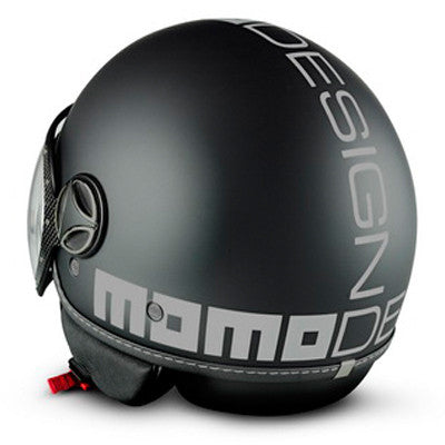 MOMO Fighter Classic Matt Black