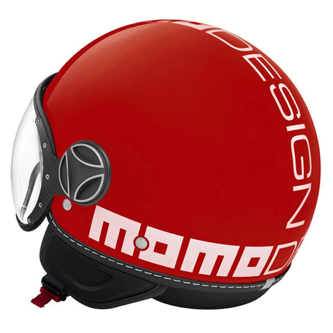 MOMO Fighter Classic Gloss Red