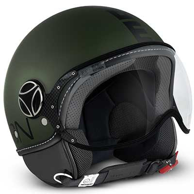 MOMO Fighter Classic Matt Military Green