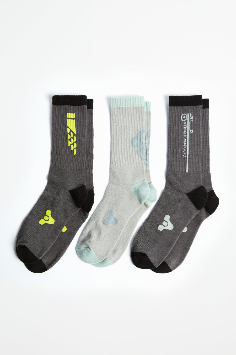 Destiny Europa Socks 3-Pack