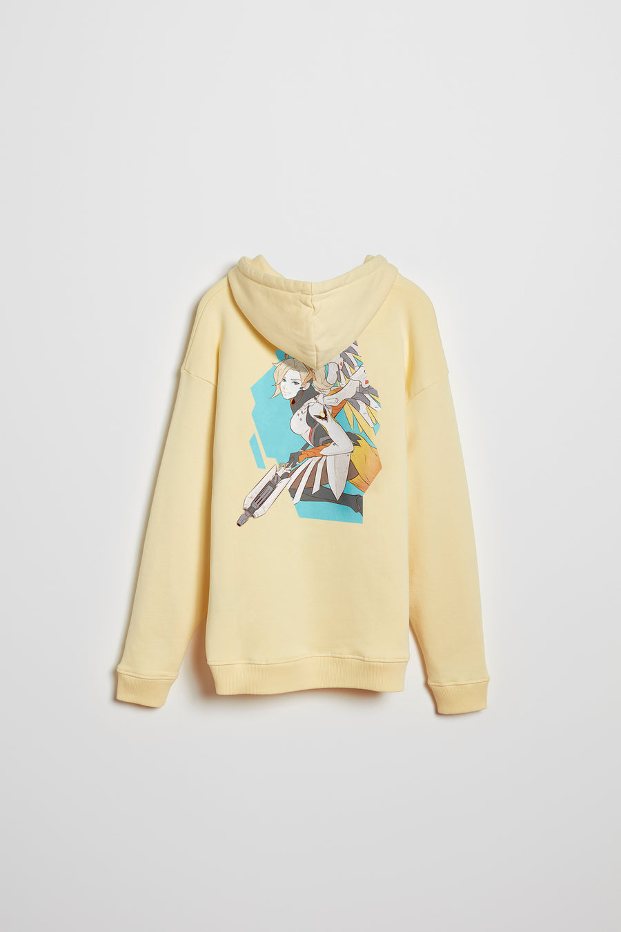 Overwatch Anime Mercy Oversize Pullover Hoodie