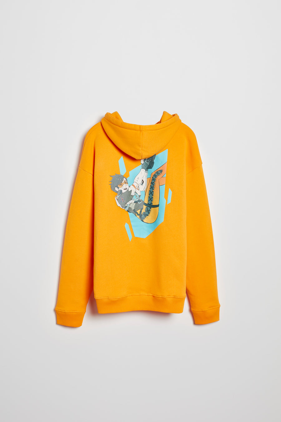 Overwatch Anime Tracer Oversize Pullover Hoodie