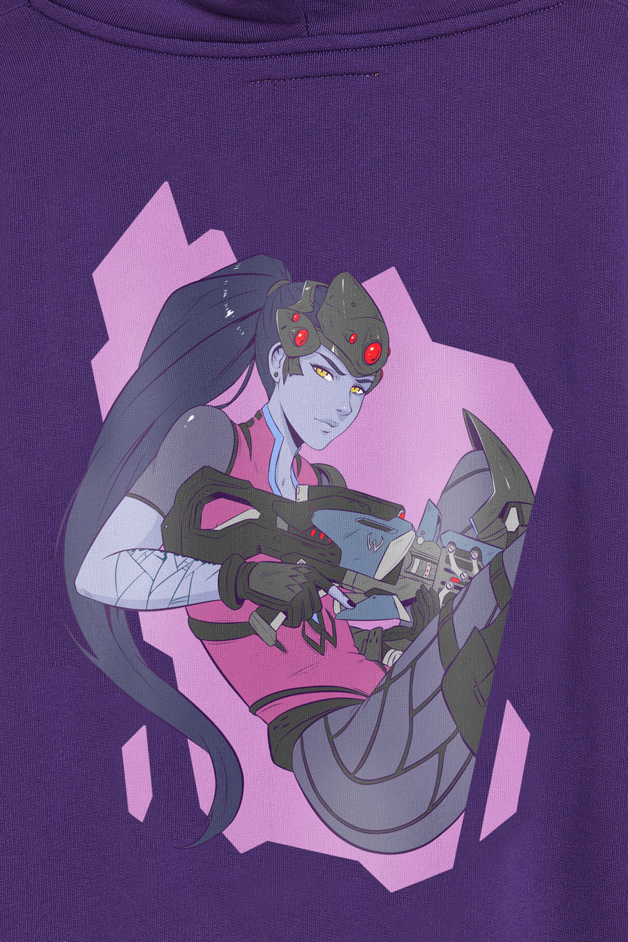 Overwatch Anime Widowmaker Oversize Pullover Hoodie