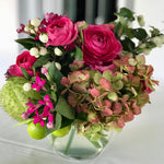Floral designs by Flowerfall for all your fall at home dinners outside and at home