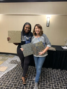 Geode Art, Canvas & Wall Workshop by Michelle Molek