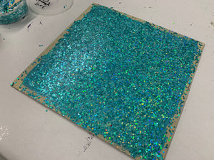 Live Glitter Gloss Wall Workshop (Virtual Paint Project)