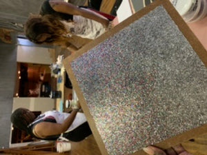 Live Glitter Gloss Wall Workshop