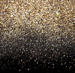 Gold To Black Glitter