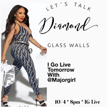 Load image into Gallery viewer, Virtual Diamond Glass Class Hosted By Tameka Tiny Harris  (Live Online Class From Los Angeles)