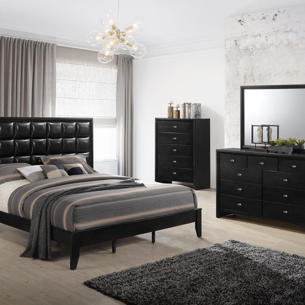 Ecrille 350 Black Wood Chest