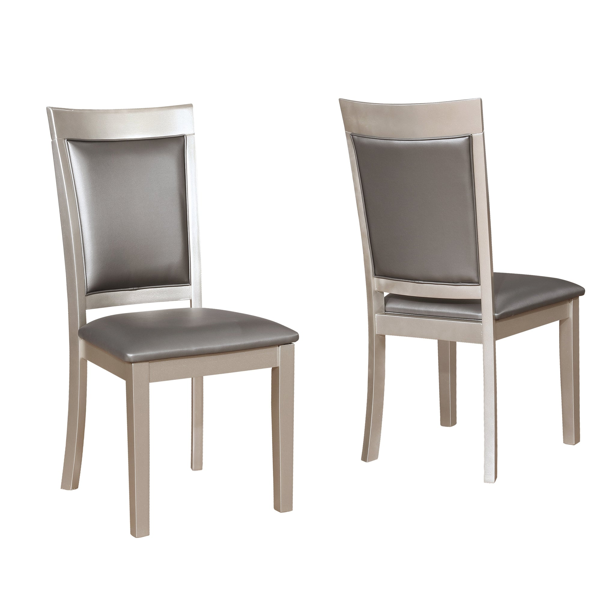 Avignor Contemporary Simplicity Dining Chair, Set of 2