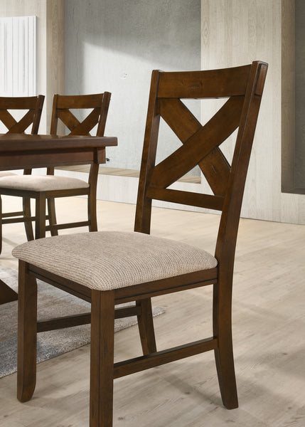 Karven Solid Wood Dining Chairs, Set of 2