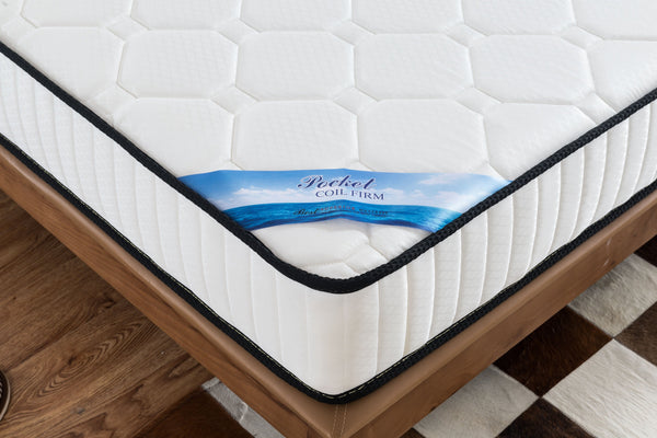 Standard Twin Size Pocket Spring Mattress