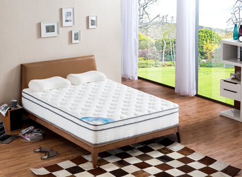 Pillow Top Full Size Pocket Spring Mattress