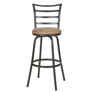 Bar or Counter Height Adjustable Metal Bar Stool